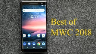 Top smartphone announcements of MWC 2018