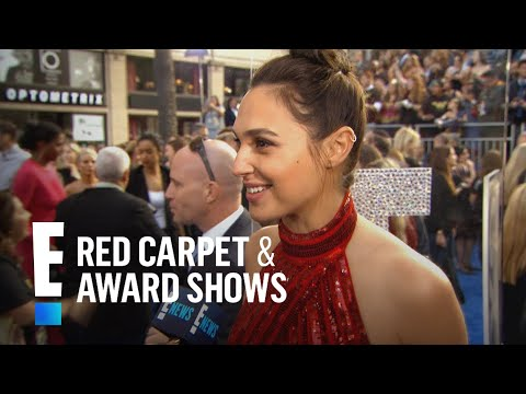"""Wonder Woman"" Stars Gal Gadot & Lynda Carter Reunite at Premiere 