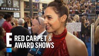 """Wonder Woman"" Stars Gal Gadot & Lynda Carter Reunite at Premiere   E! Live from the Red Carpet"