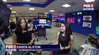 FOX 5 LIVE (2/16): Entrepreneur and #MeToo activist Karen Alston talks career, women empowerment