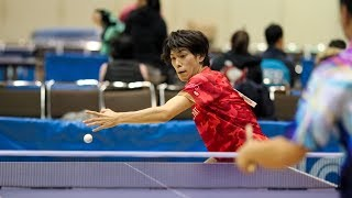 2018 US Open Table Tennis Championships - Day 4 (Doubles Semifinals & Finals) - Table 1