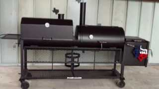 20 X 36 Bbq Smoker Grill Combo - Pits By Jj