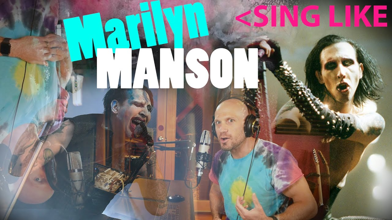 How to Sing Like Marilyn Manson (Aggressive Whispers, Thick FRY & Blistering Screams) NOT a REAC
