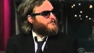 Joaquin Phoenix on David Letterman Full Interviewhd720 1 2017 Video