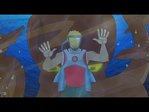 Supa Strikas - Season 3 - Ep 33 - One Super League Under the Sea - Soccer Adventure Series