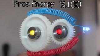 Dişli Çark Sistem ile Sınırsız Elektirik üretmek   Free Energy