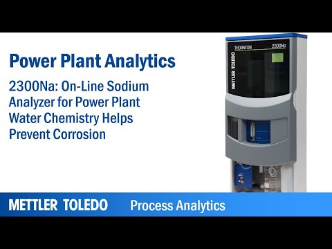 Sodium, Silica and Chloride/Sulfate Analyzers
