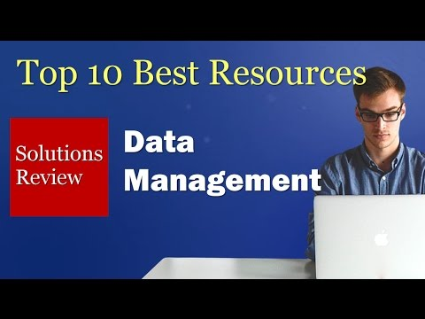 Top 10 Best Resources for Buyers: Data Management