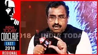 Insider, Outsider - Citizen Kaun? | Ram Madhav In Conversation With Rajdeep | IT Conclave East 2018