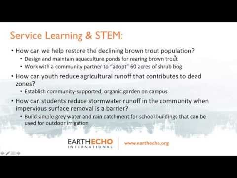 Science as Adventure: Environmental Project Based Learning in the STEM Classroom