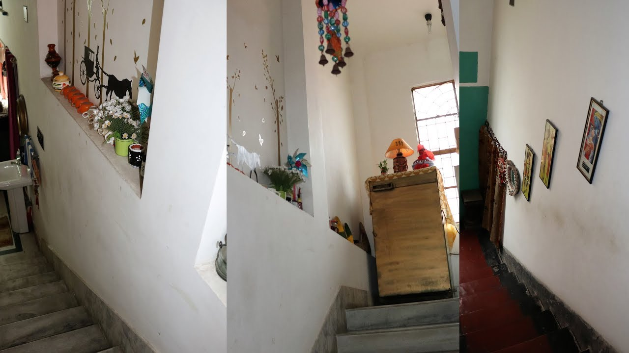 How To Decorate Staircase Indian Staircase Decoration Youtube