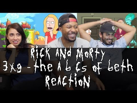 Rick and Morty - 3x9 The ABCs of Beth - Reaction!