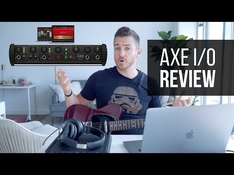 IK Multimedia Axe I/0 Guitar Interface Review – RecordingRevolution.com