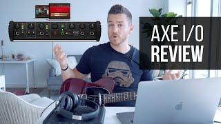 IK Multimedia Axe I/0 Guitar Interface Review - RecordingRevolution.com
