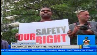 Nairobi Civil Society Groups demonstrate to protest laxity by the government