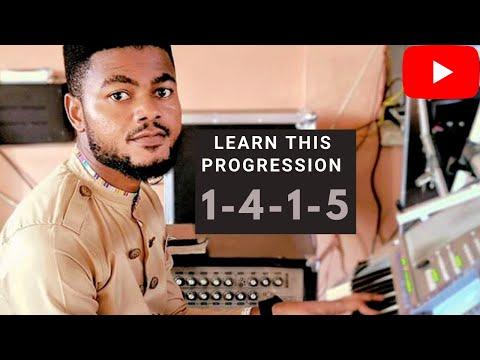 Ghana keyboard lesson #1