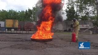 видео Огнетушитель ОУ-15