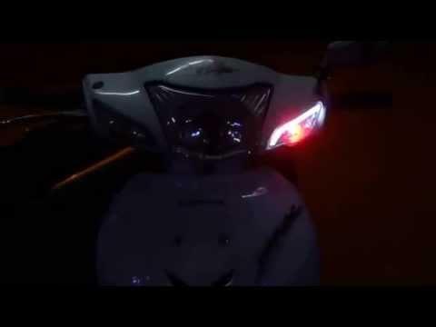 độ đèn led cho xe wave, ex, audi,...uy tín chất lượng