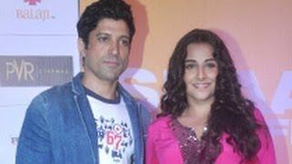Farhan Akhtar, Vidya Balan at 'Shaadi Ke Side Effects' Trailer Launch | Hindi Movie | Ekta Kapoor