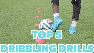 TOP 5 SOCCER DRIBBLING DRILLS