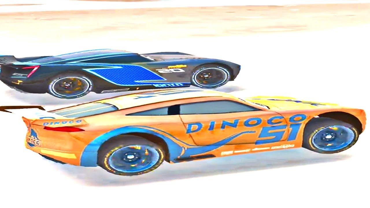 Cars Lightning League Ios Walkthrough Part 7 Levels 40 45 Jackson Storm Boss Race Youtube
