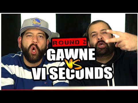 ROUND2: BABY NF VS THE GAWD!! DissReaction | Gawne vs VI Seconds
