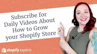 Subscribe for Daily Videos About How to Grow your Shopify Store