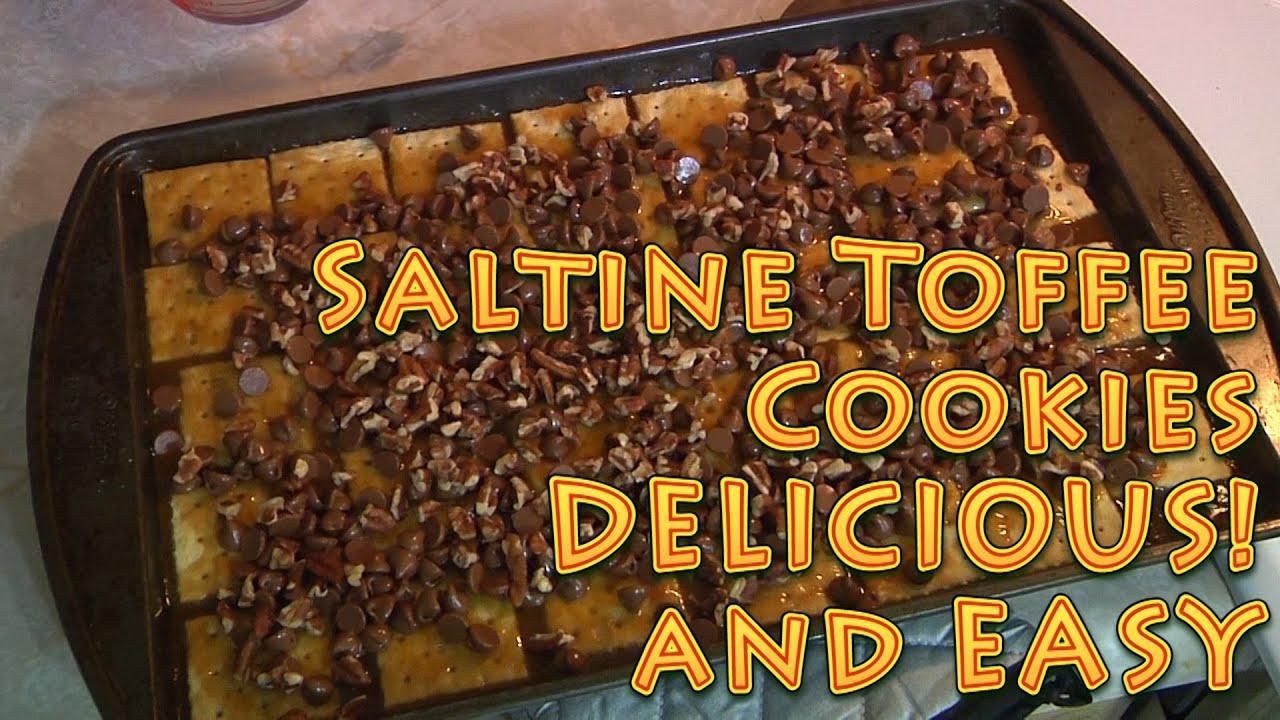 Saltine Toffee Crackers