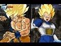 Dragon Ball Z Budokai Tenkaichi 3 Japanese BGM Edition SSJ Goku Vs SSJ Vegeta 1080p