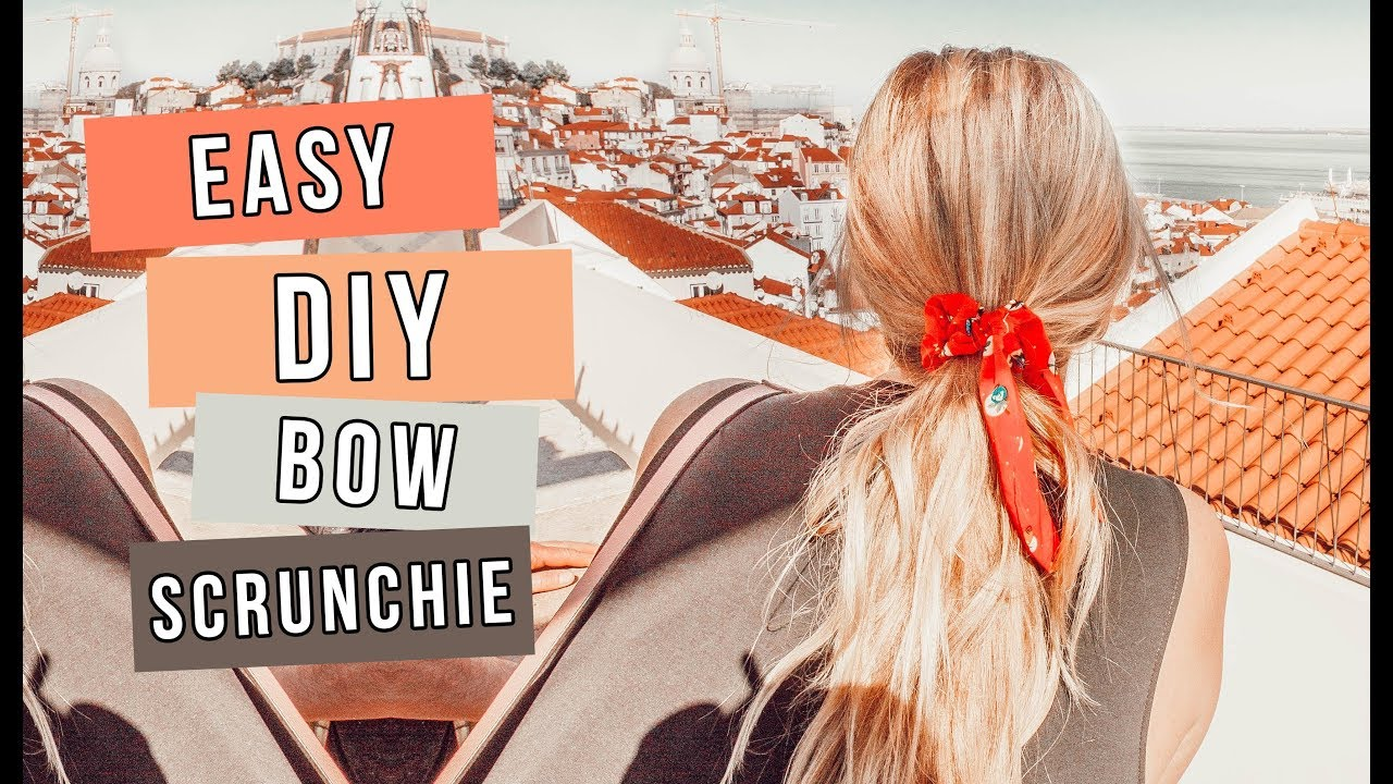 Make Your Own Bow Scrunchies!  f9b128f2894