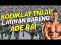 KODIKLAT TNI AD latihan bareng ADE RAI