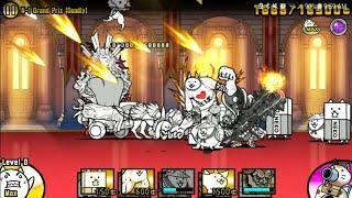 The Battle Cats! Unlock Glass Cat - KING MAHWAH'S REVENGE - N-1 GRAND PRIX (ft. Balrog Cat + Jizo)