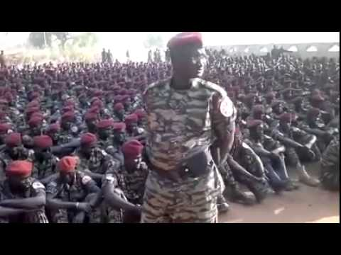 SPLA Presidential Guards Tiger Division in Juba   South Sudan, 2014