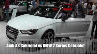 audi a3 cabriolet 2015 vs bmw 2 series cabriolet 2015