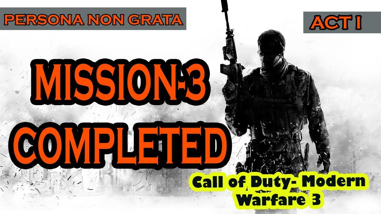 Mission 3 Completed With Some Memes Compilation Call Of Duty