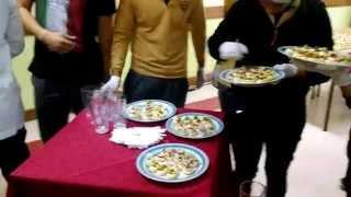 Especialidad de Gastronomía primer cóctel Liceo Rodulfo Amando Philippi Paillaco.