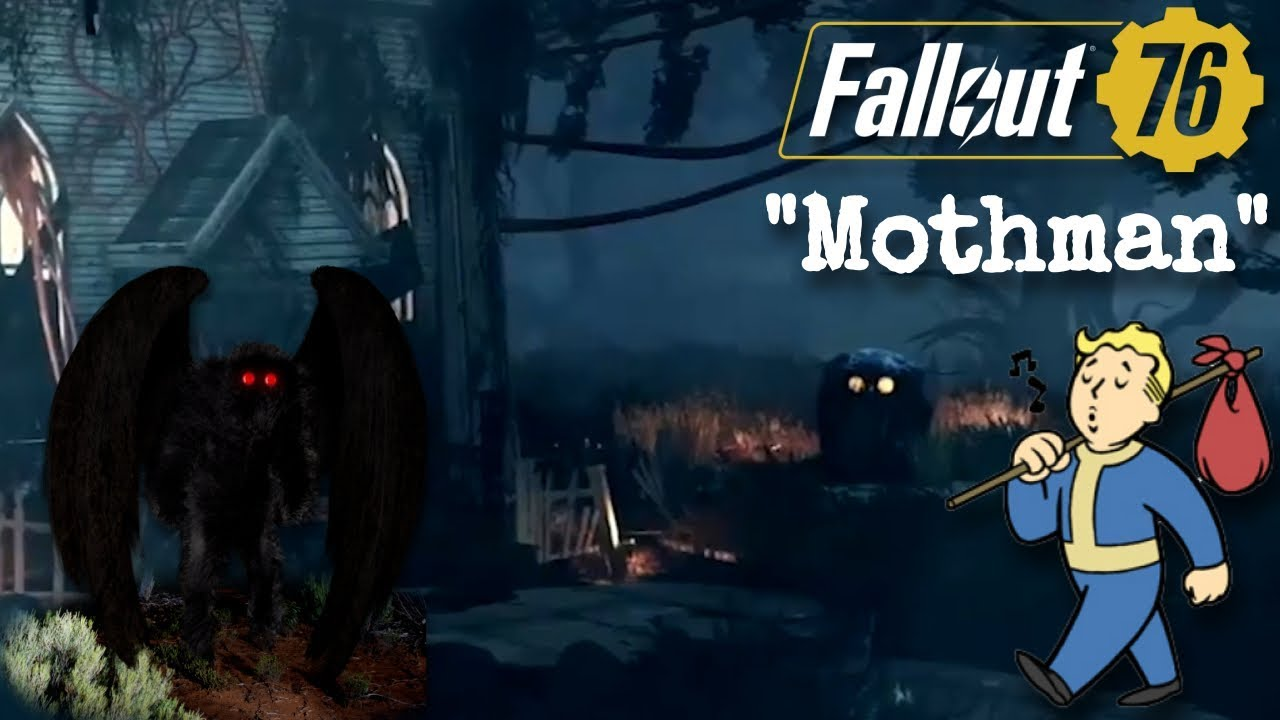 Fallout 76': Mothman, Flatwoods Monster, and Other West