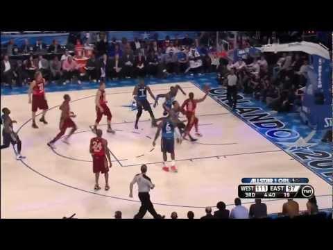 Kobe Bryant Surpasses Michael Jordan as All-Time NBA All-Star Leading Scorer ll 2.26.2012 HD