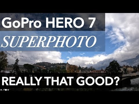 GoPro Hero 7 Photo Quality Comparison and Test of Superphoto