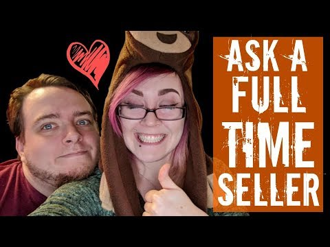 Ask a Full-Time Etsy Seller- Live Q&A