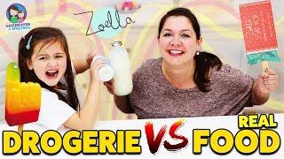 REAL FOOD vs. DROGERIE! SO ECHT sieht ZOELLA Kosmetik aus! Geschichten und Spielzeug