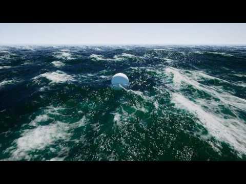 Nvidia Waveworks - Buoyancy Demo - Beaufort Scale 7