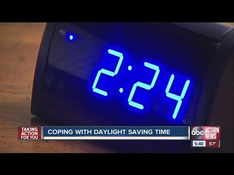 Tips to help you through daylight saving time