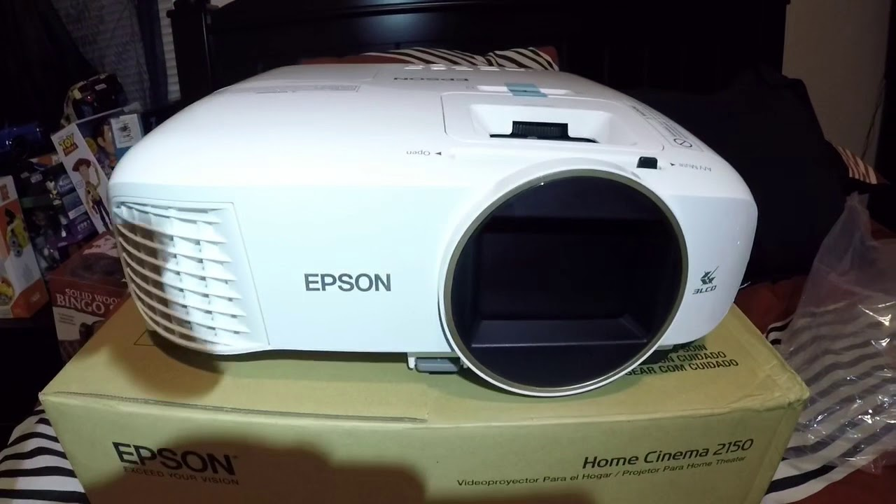 Epson Home Cinema 2150 Projector Unboxing