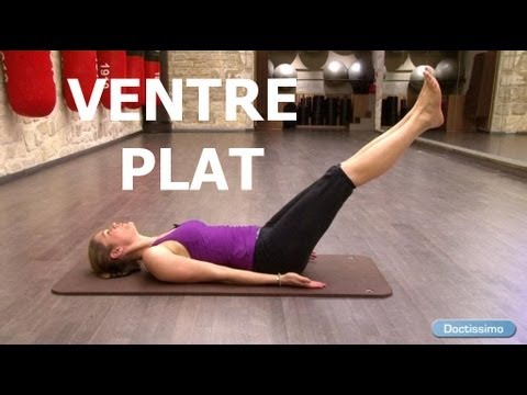 fitness ventre plat exercices de pilates pour perdre du ventre youtube. Black Bedroom Furniture Sets. Home Design Ideas
