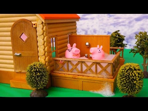 Peppa Pig Stories With Kids Toys & Dolls - Peppa's Family Moves to a New House