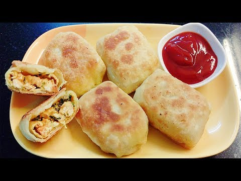 Chicken Pocket Roll | Chicken Pocket Roll in hindi by Farheen Khan | Hot n Spicy Indian Style