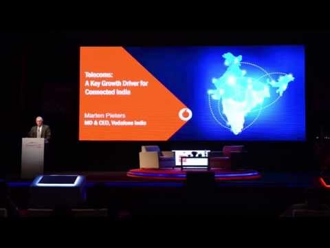 Center Stage: Keynote by Marten Pieters, CEO, Vodafone India