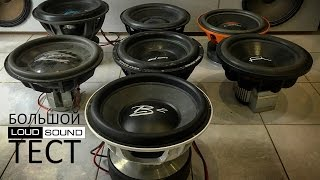 Big Testing of Top Subwoofers