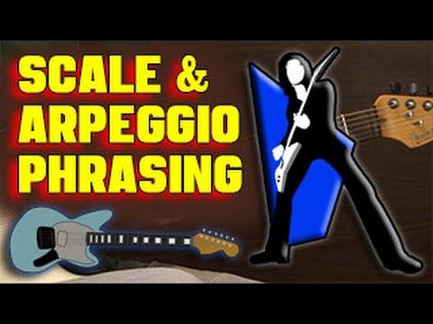 🎸  GUITAR THEORY: Scale & Arpeggio Phrasing